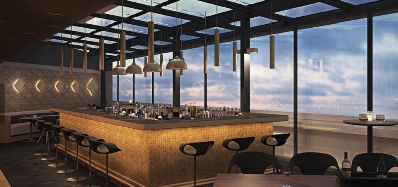 Bar at the 10 Karakoy, a Morgans Original