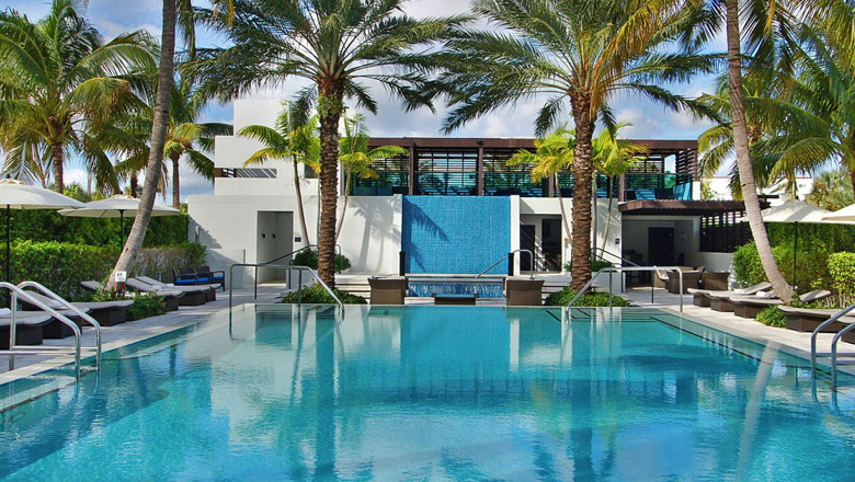 Tideline ocean resort spa palm beach officially opens - American swimming pool and spa association ...