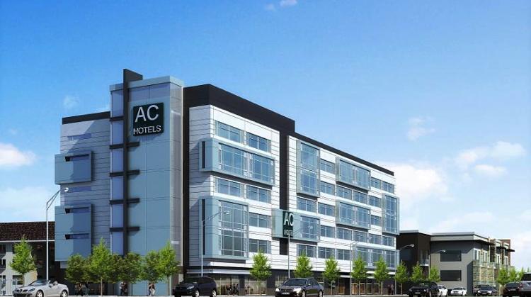 Rendering of the AC Hotel Atlanta Buckhead At Phipps Plaza