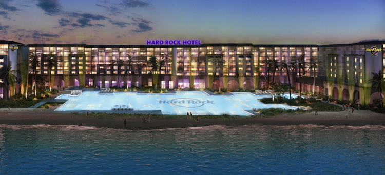 Rendering of the Hard Rock Hotel Riviera Cancun
