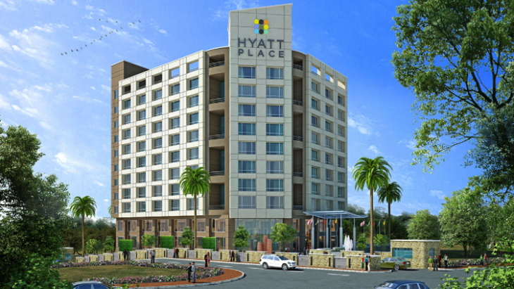 Rendering of the Hyatt Place Pune/Hinjewadi