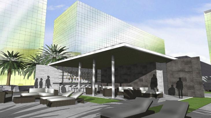 Rendering of the Hyatt City of Dreams Manila