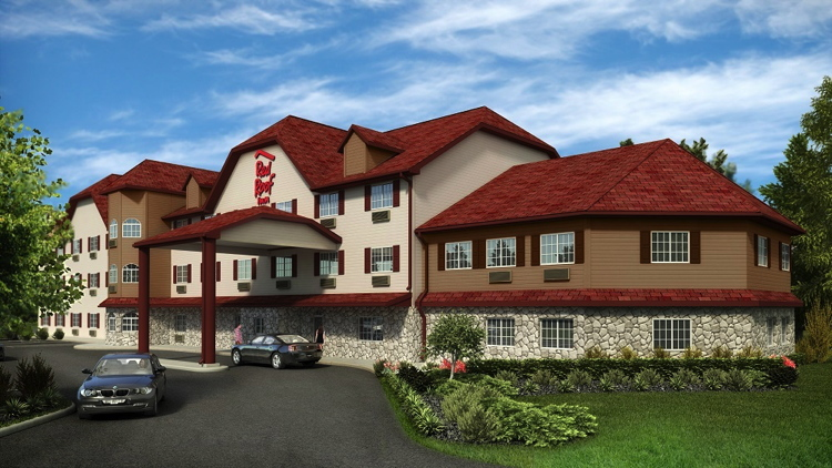 Red Roof Inn in Council Bluffs, Iowa