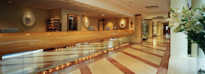 Lobby at the Hotel Scandic Sergel Plaza