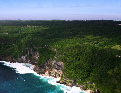 Location of proposed Six Senses Bali Resort