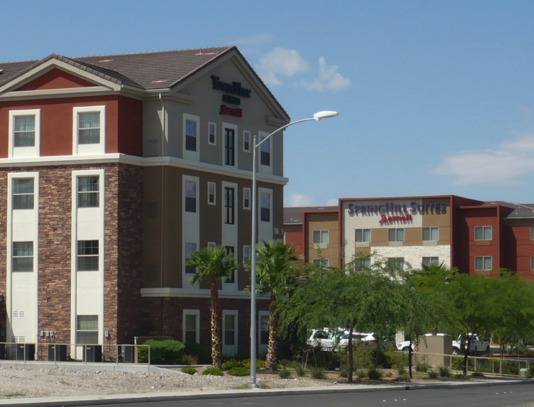 Marriott SpringHill Suites Hotel and Marriott TownePlace Suites Hotel in Henderson, Nevada