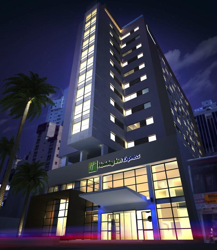 Rendering of the Holiday Inn Express Cartagena Bocagrande