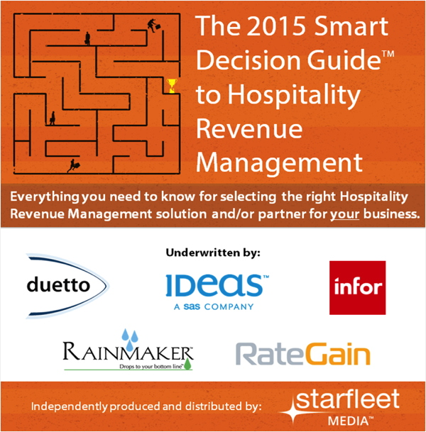 Image from The 2015 Smart Decision Guide to Hospitality Revenue Management