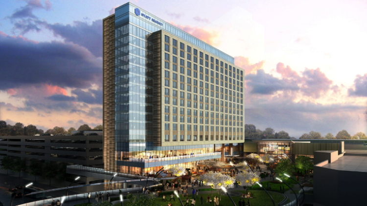 Rendering of the Hyatt Regency Tysons Corner
