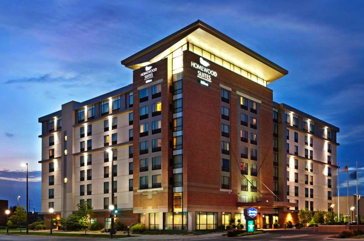 white lodging to manage hton inn and homewood suites in