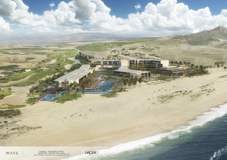 Rendering of the Nobu Hotel Los Cabos