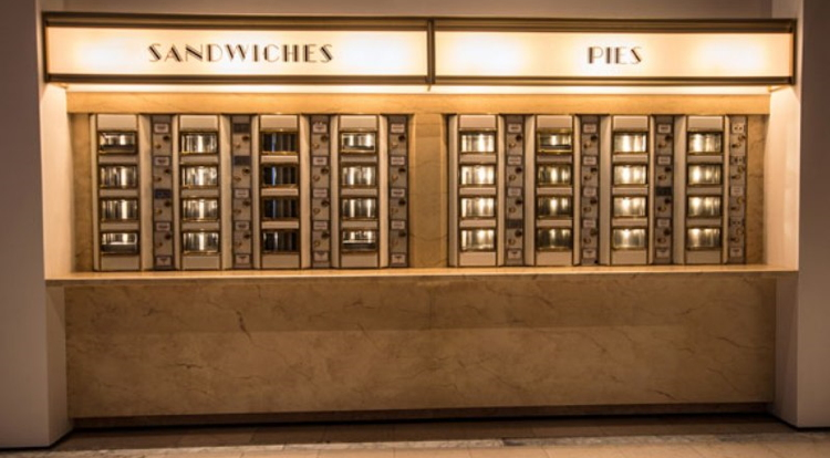 Pictured - The Automat