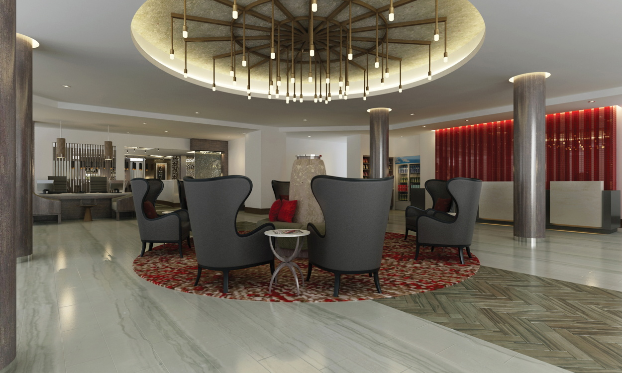 DoubleTree by Hilton Hotel Largo/Washington DC Lobby