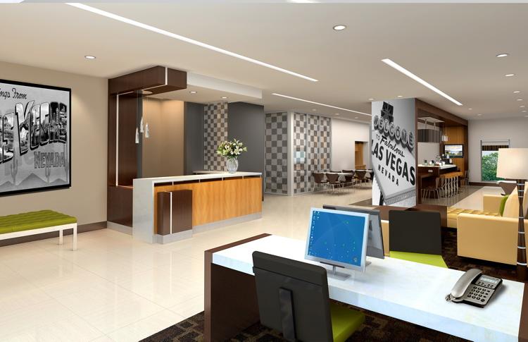 Image of Wyndham LEED Certifiable Prototype Room