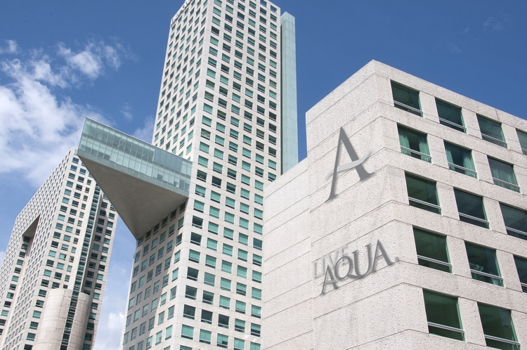 Rendering of the Live Aqua Hotel Chicago