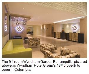 Wyndham Garden Hotel in Barranquilla, Colombia