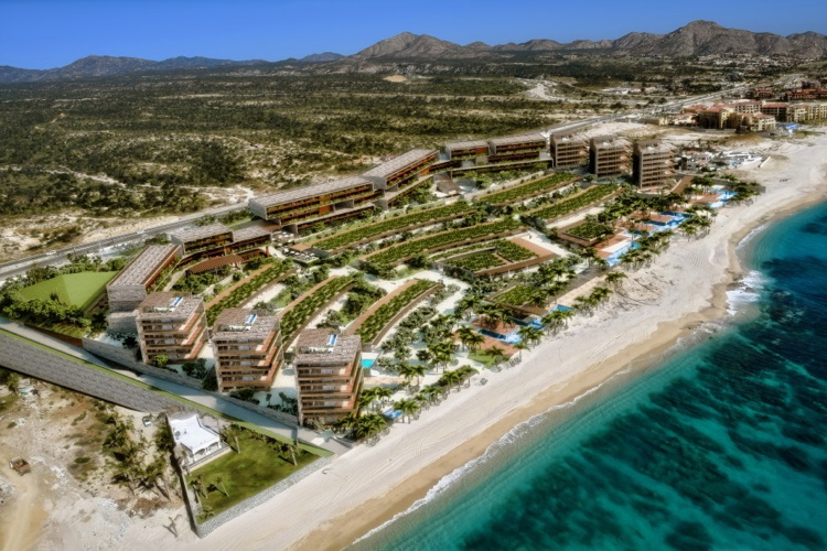 Luxury collection hotels resorts breaks ground on los for Luxury hotel breaks
