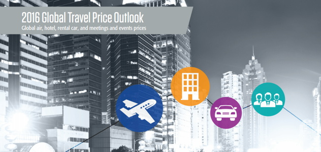 Cover from GBTA 2016 Global Travel Price Outlook Report