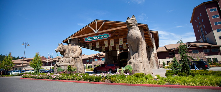 A Great Wolf Lodge Resort