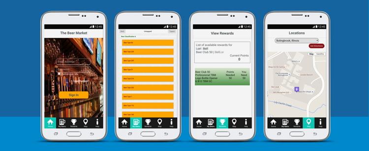 Beer Tracker Screenshots