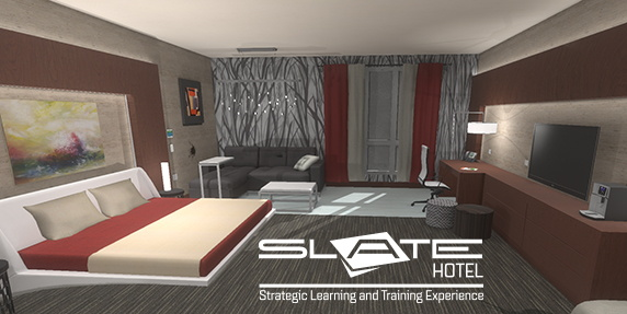 Image from AHLEI's 3-D Virtual Hotel Simulation
