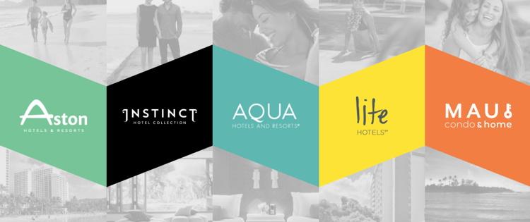 Screenshot from Aqua-Aston Hospitality Website