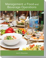 Cover of the Management of Food and Beverage Operations Book