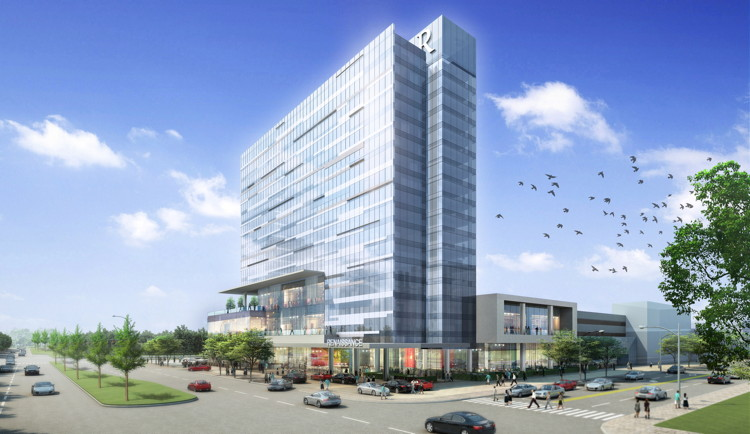 Toyota Of Plano >> Renaissance Dallas at Plano Legacy West Hotel Celebrates Topping Off