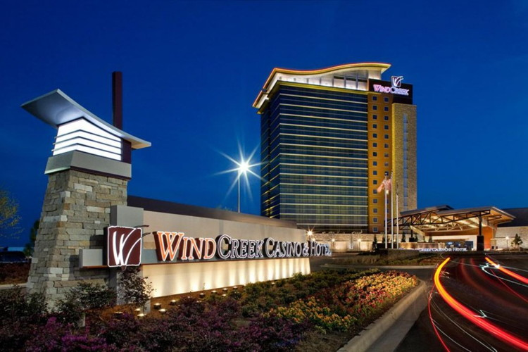 Image result for wind creek montgomery casino