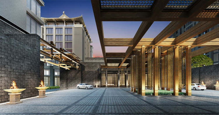 Rendering of the Regent Place Xian