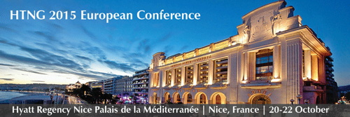 Promotional image for the HTNG European Conference