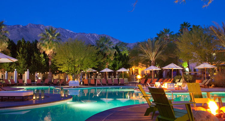 Riviera Palm Springs Tribute Portfolio From Starwood Hotels
