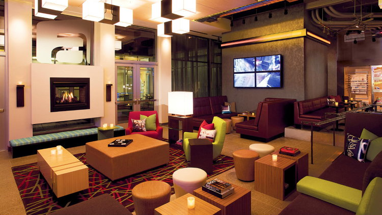 Aloft Durham Downtown Re Mixsm Lounge Hotels