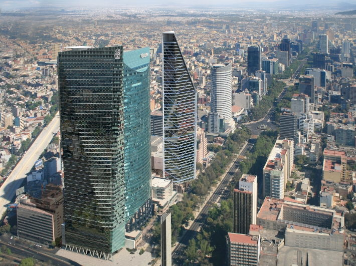 Rendering of the The Ritz-Carlton, Mexico City