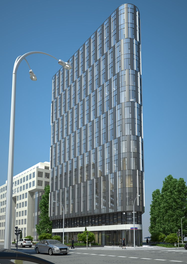 Rendering of the Holiday Inn Warsaw - City Centre