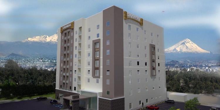 Rendering of the Staybridge Suites Puebla