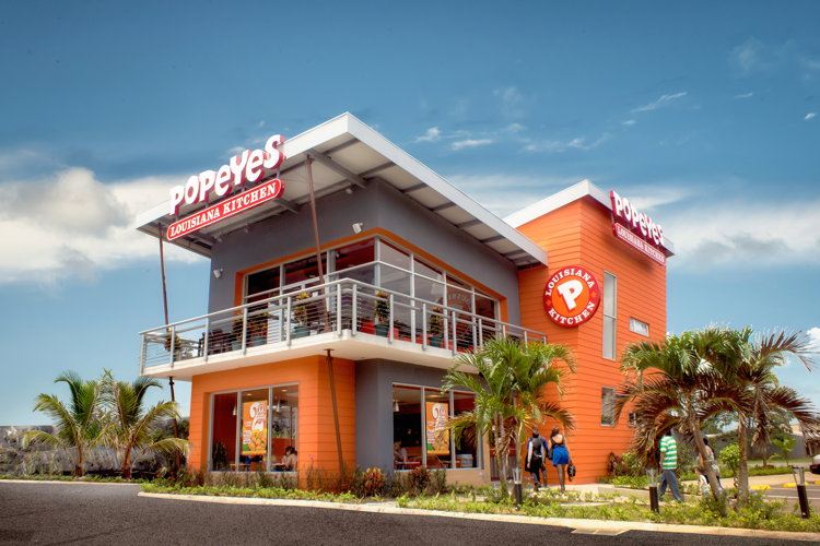 Popeyes New Two-story International Design Prototype