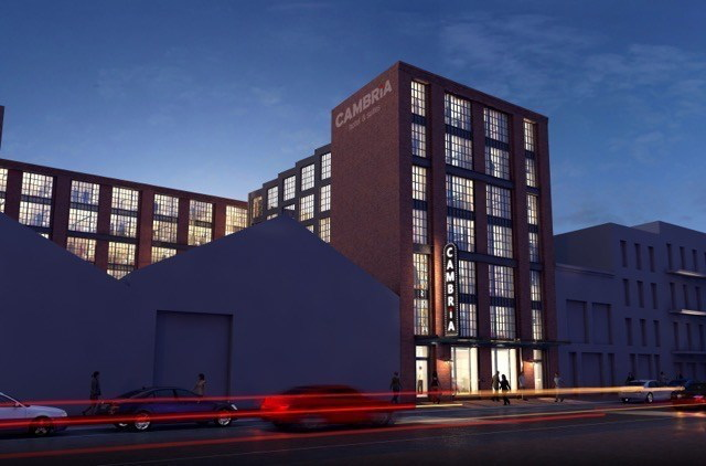 Rendering of the Cambria Hotels & Suites New Orleans