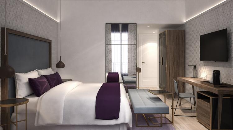 DoubleTree by HIlton Madrid Prado King Guest Room
