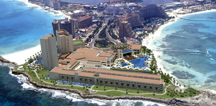 Rendering of the Hyatt Ziva Cancún