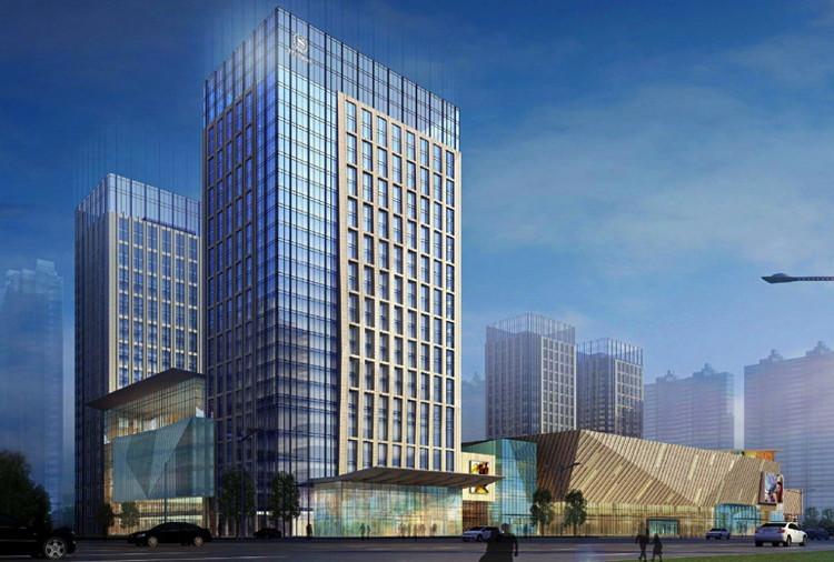 Rendering of the Sheraton Harbin Xiangfang Hotel