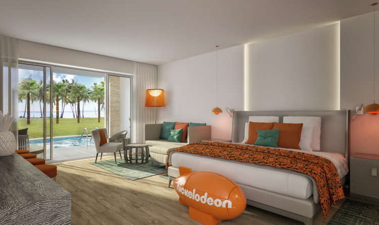 Room rendering at Nickelodeon Hotels & Resorts Punta Cana