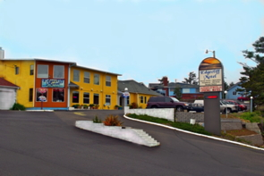 Edgecliff Motel, Lincoln City, Oregon