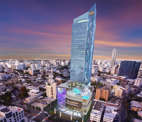Rendering of the Hard Rock Hotel & Casino Santo Domingo