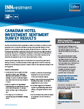 Cover from Colliers International Hotels Q4 2015 Investment Canada Report
