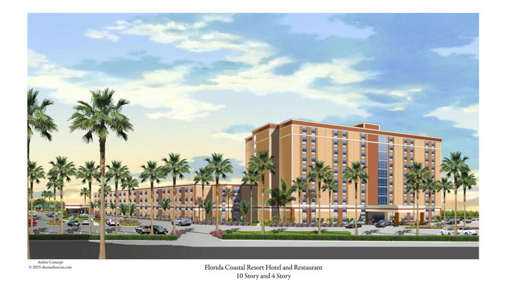 Rendering of the Red Lion Hotel Orlando - Lake Buena Vista South