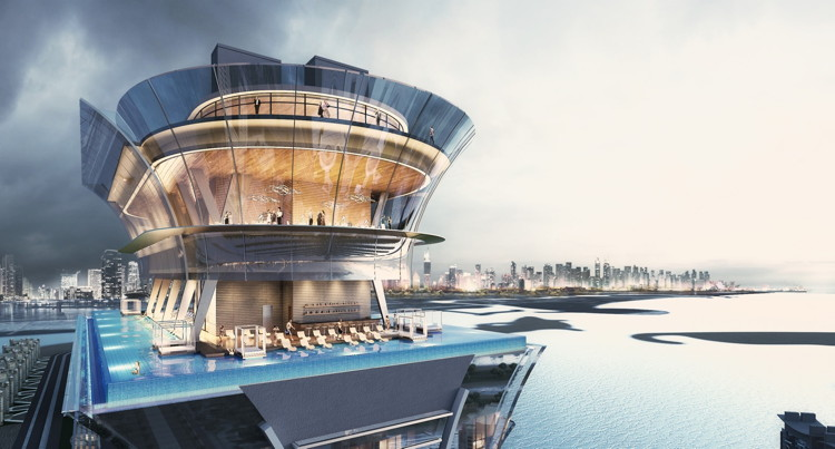 Rendering of the The St. Regis Dubai The Palm