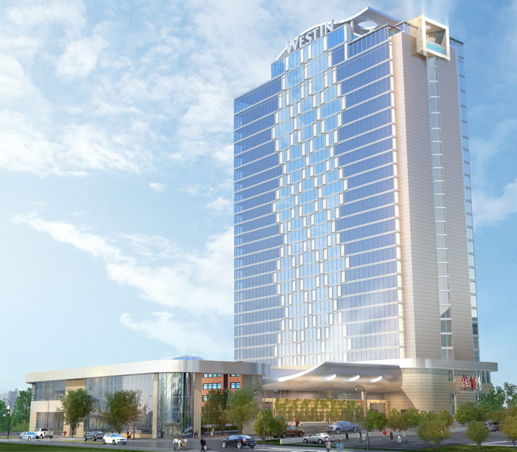 Rendering of the Westin Nashville