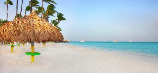 Beach in Aruba