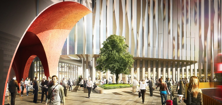 Rendering of Canopy by Hilton London City Hotel